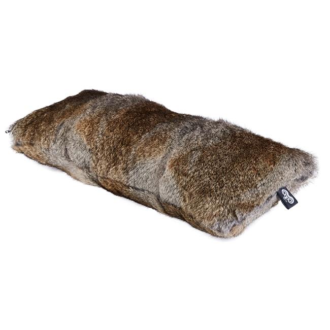 housse de coussin en peau de lapin naturel garenne 30x60 double face dt collection direct tannerie grossiste fournisseur france p
