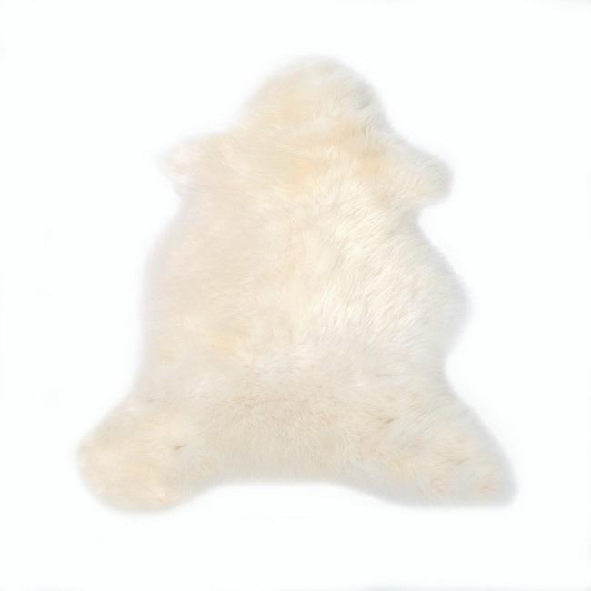 Peau d`agneau naturel blanc blanche tapis descente de lit tapis en laine naturelle nordique chambre salon carpette blanc décoration scandinave peau de bête direct tannerie grossiste