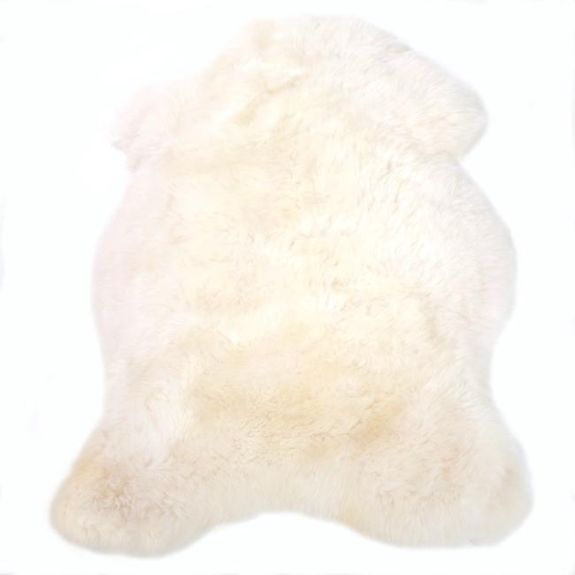 Peau de Brebis naturelle blanche tapis descente de lit tapis en laine naturelle nordique chambre salon carpette blanc décoration scandinave peau de bête direct tannerie grossiste - Copie