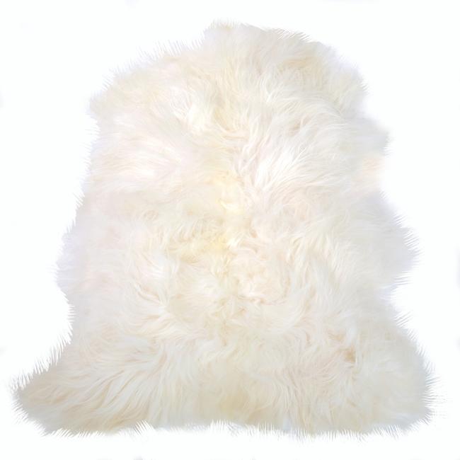 Peau de mouton islandaise blanche naturel tapis descente de lit tapis en laine naturelle nordique chambre salon carpette décoration scandinave peau de bête direct tannerie importateur gros
