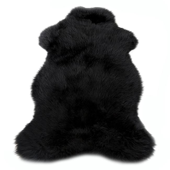 Peau de mouton mérinos teintée noire tapis descente de lit tapis en laine naturelle direct tannerie importateur grossiste dt collection vente gros fournisseur