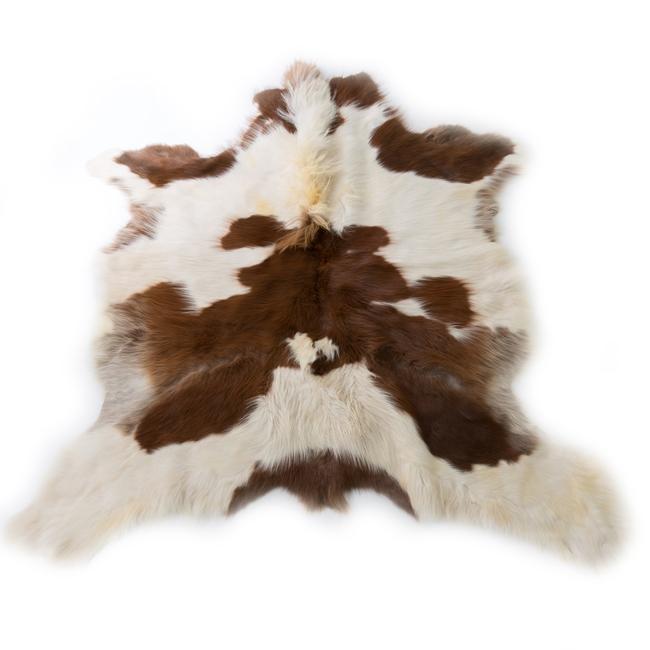 Peau de poney arctique original grande taille petit cheval blanc marron gris poils longs décoration western médiéval montagne direct tannerie grossiste importateur négociant vente en gros